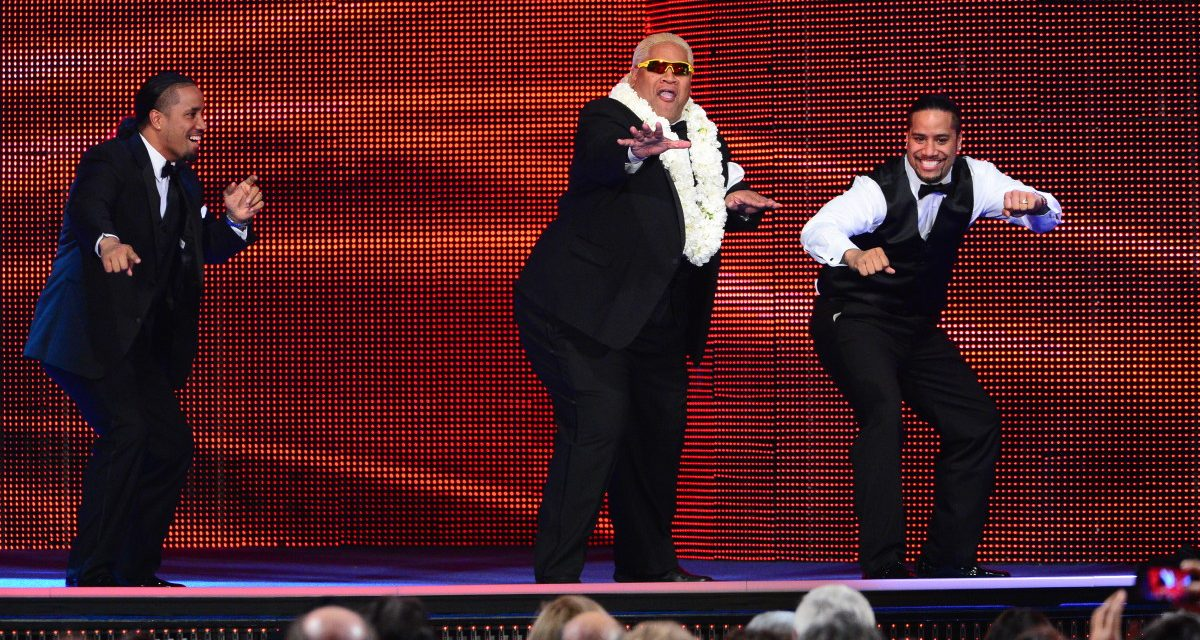 Rikishi and the Usos story archive