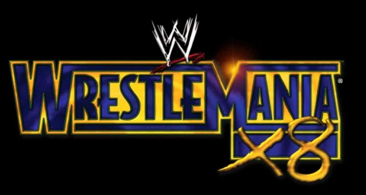 Hogan passes torch at WrestleMania X8