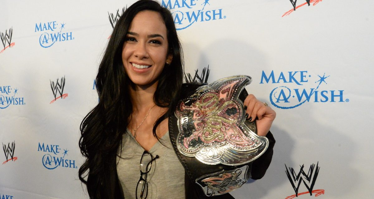 AJ Lee book about far more than wrestling