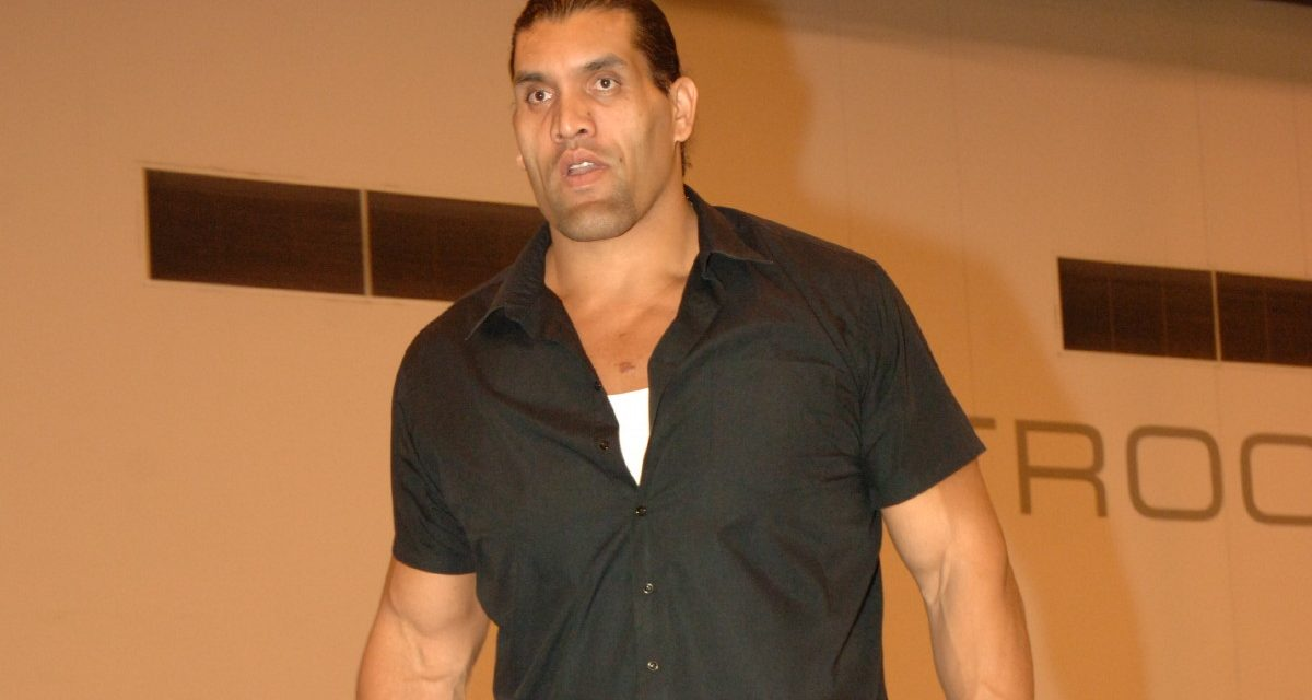 Mat Matters: The Great Khali's WWE Hall of Fame induction is best for business