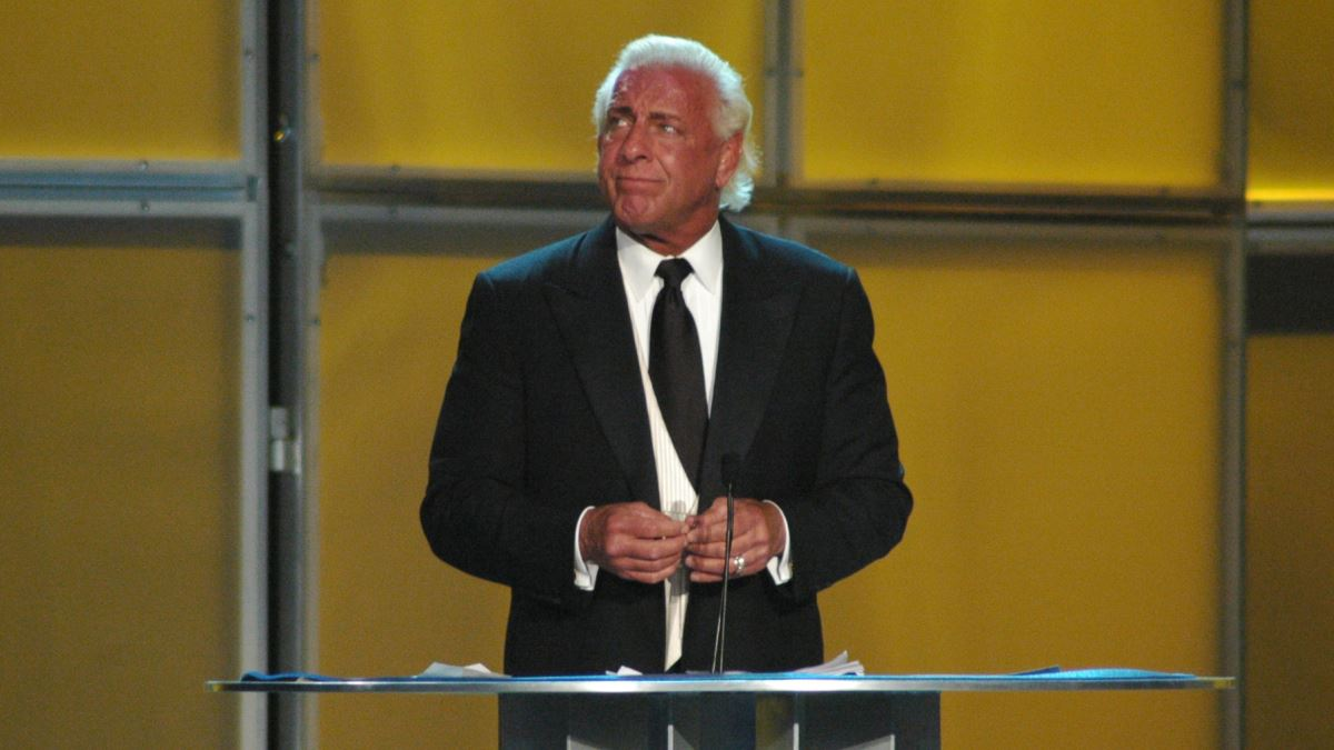 WWE HOF show had Flair