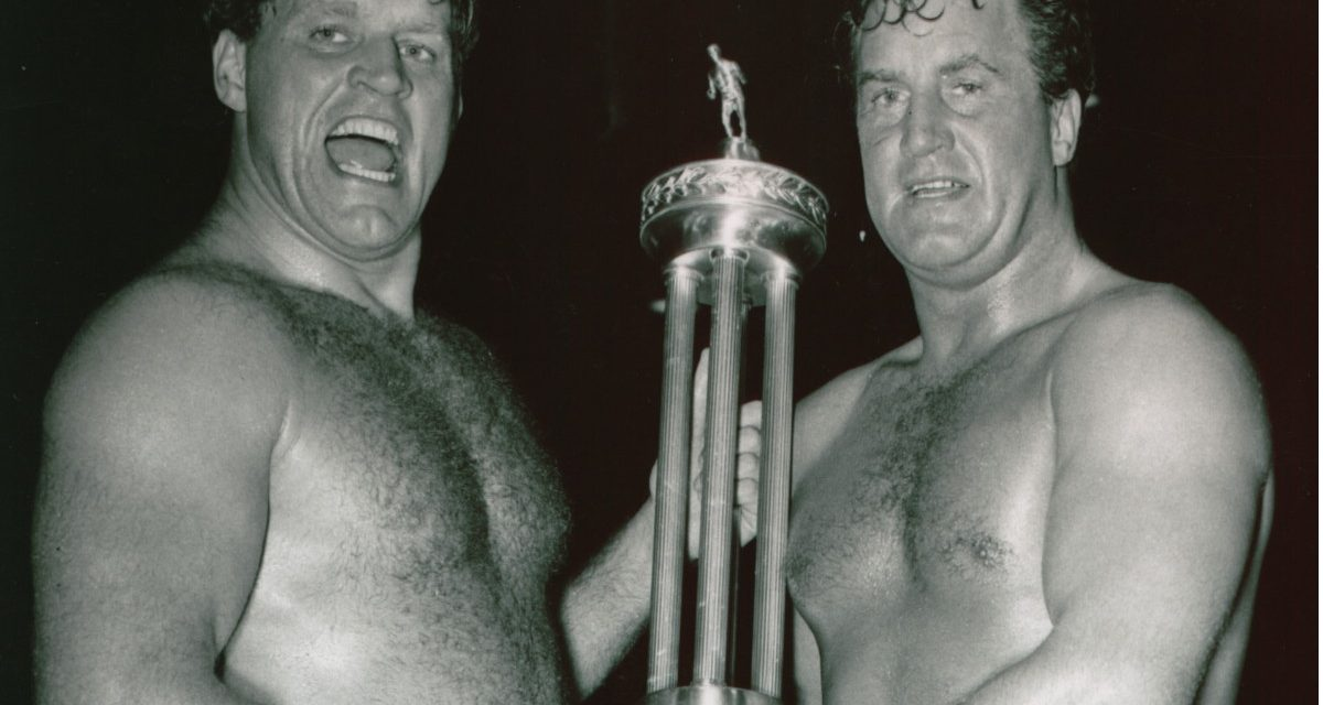 PWHF inductees Ben & Mike Sharpe were giants