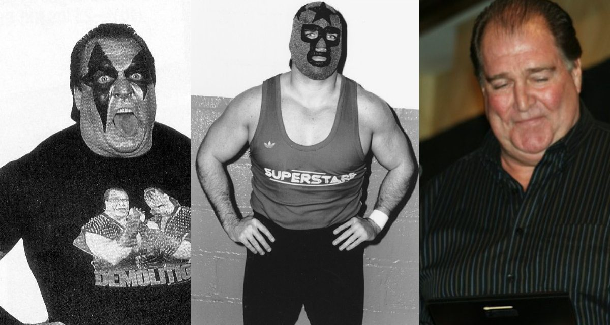 Masked Superstar takes his place in Hall of Fame