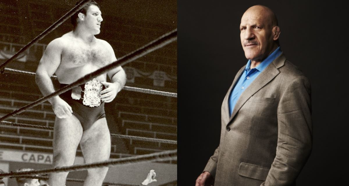 Sammartino goes over at the Hall of Fame