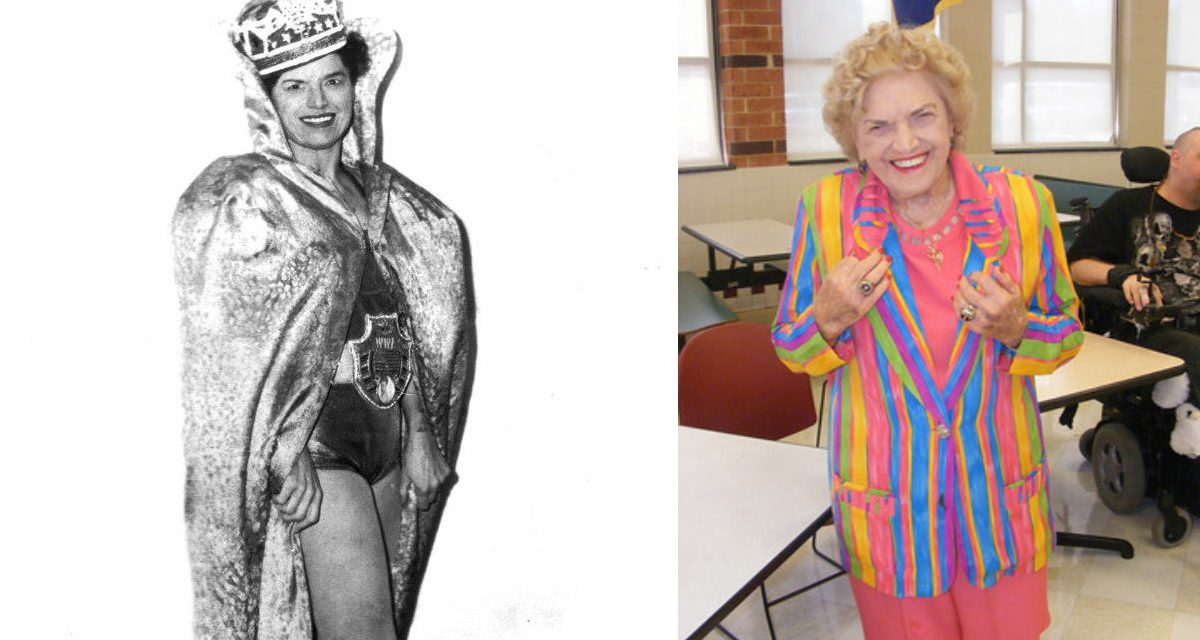 HOFer Mae Young vows to keep wrestling