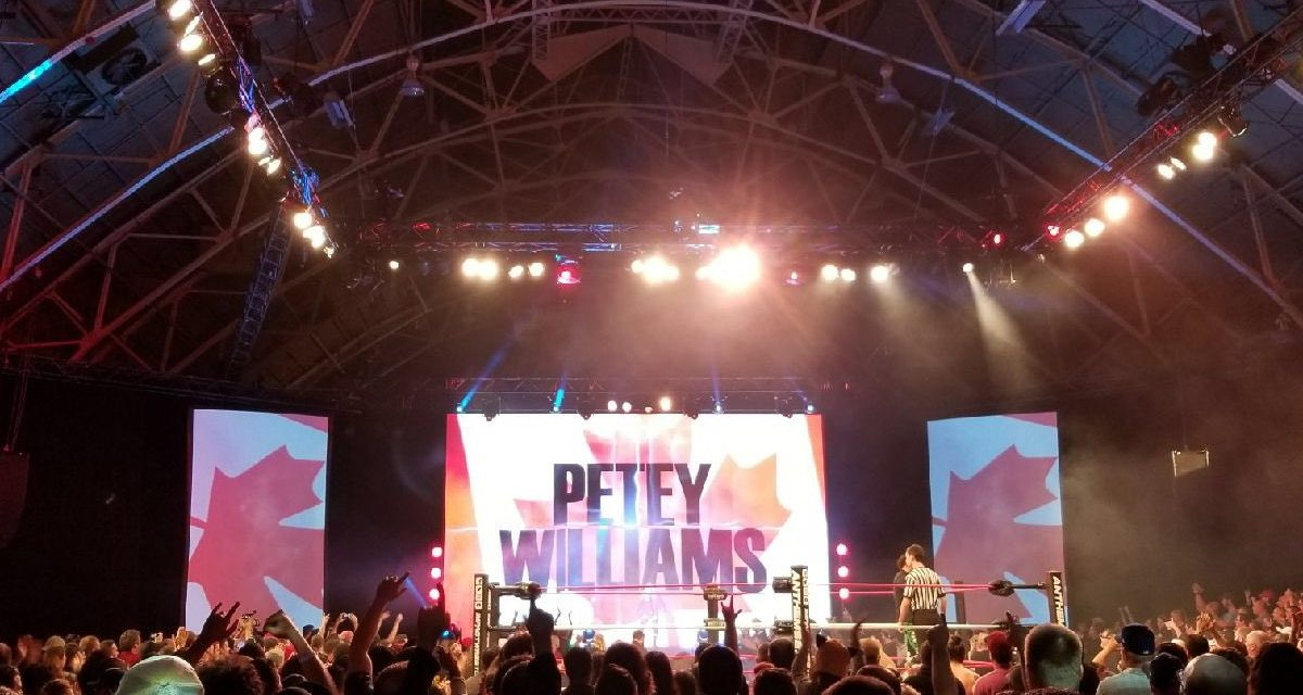 Petey Williams story archive