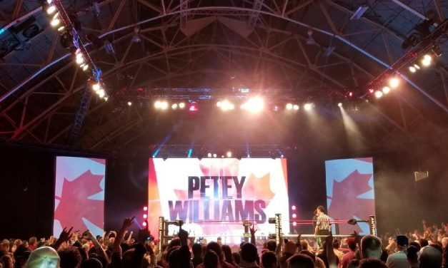 Petey Williams ready for more