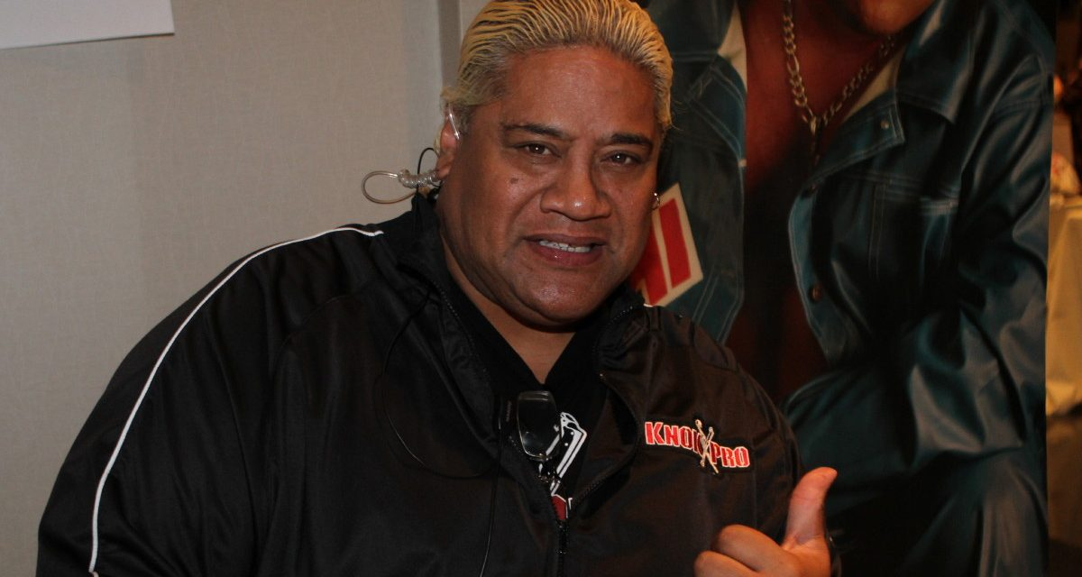 Rikishi's roles changed through his Mania appearances