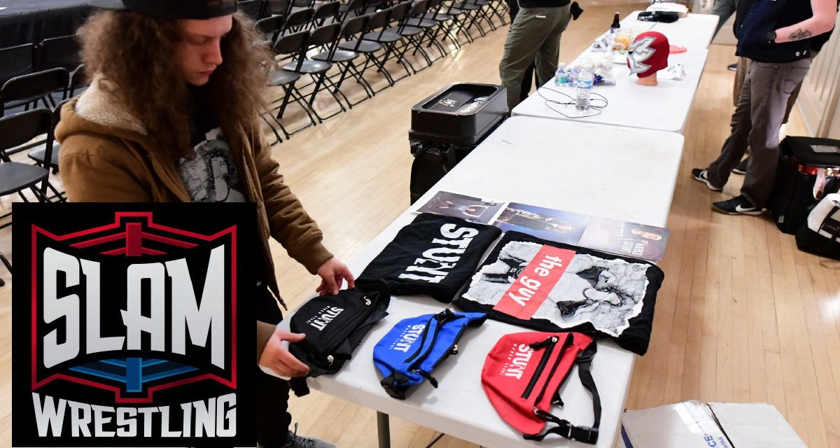 'Get your T-shirts here!' (And support indy wrestlers)