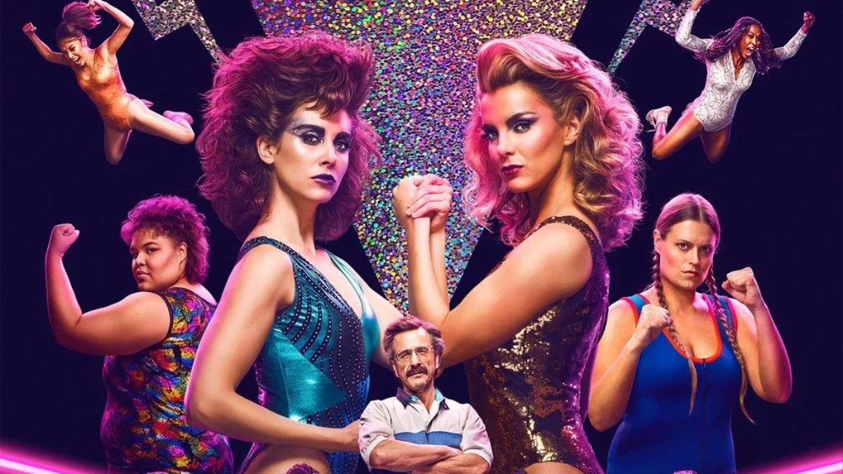 Maron, Brie make GLOW shine in new Netflix series