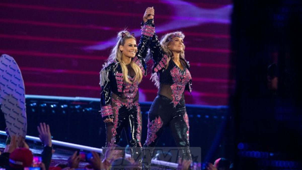 At Hart, Divas of Doom 'are lady wrestlers'