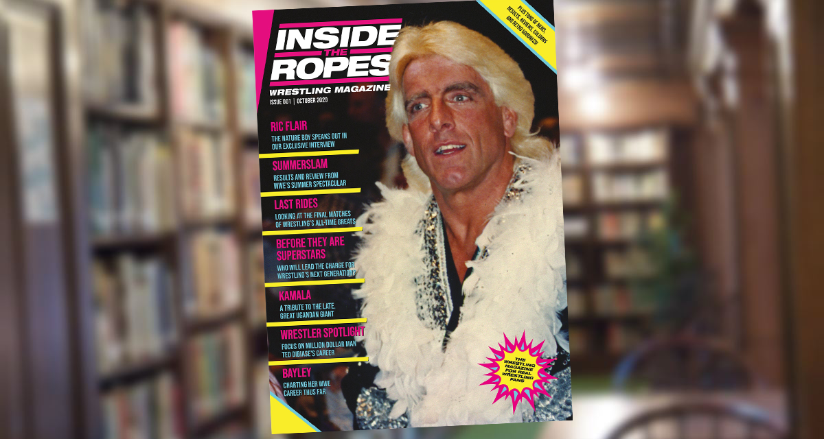 Inside the Ropes to launch new monthly pro wrestling magazine