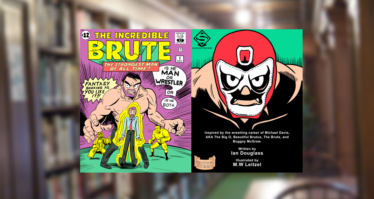 'The Incredible Brute' brutalizes babyfaces in his first comic/coloring book