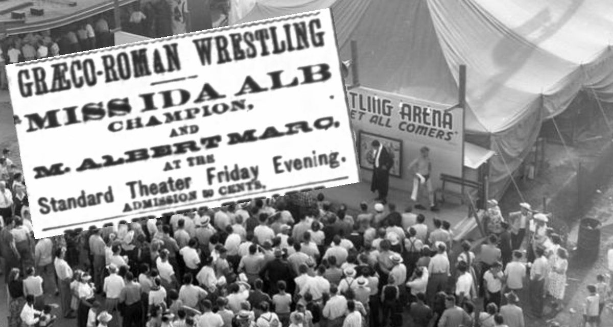 How a lady wrestler picked a fight to prove she was no fraud in 1880