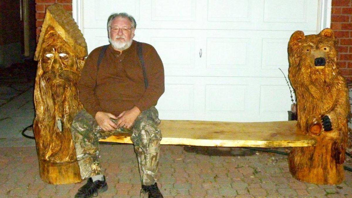Jim Hutchison: From headlocks to chainsaw-carving