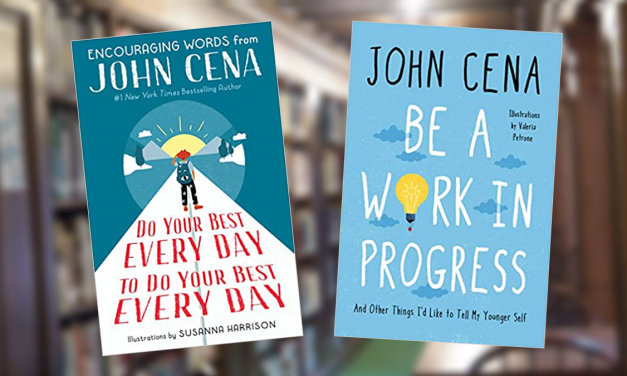 Cena encourages readers to 'never give up' with two inspirational books