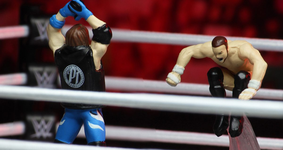 WWE HeroClix is worth the price of admission