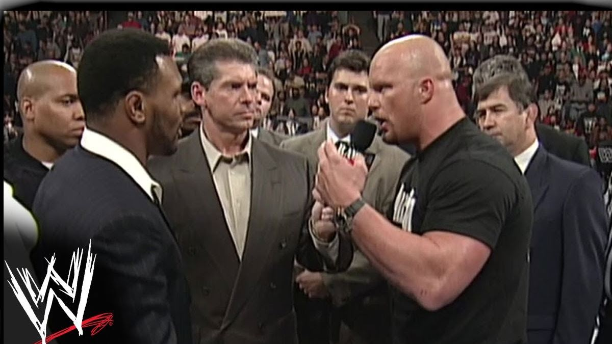 Flashback: Mike Tyson's ties to wrestling