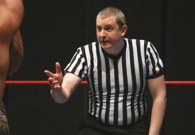Referee Bobby Williams