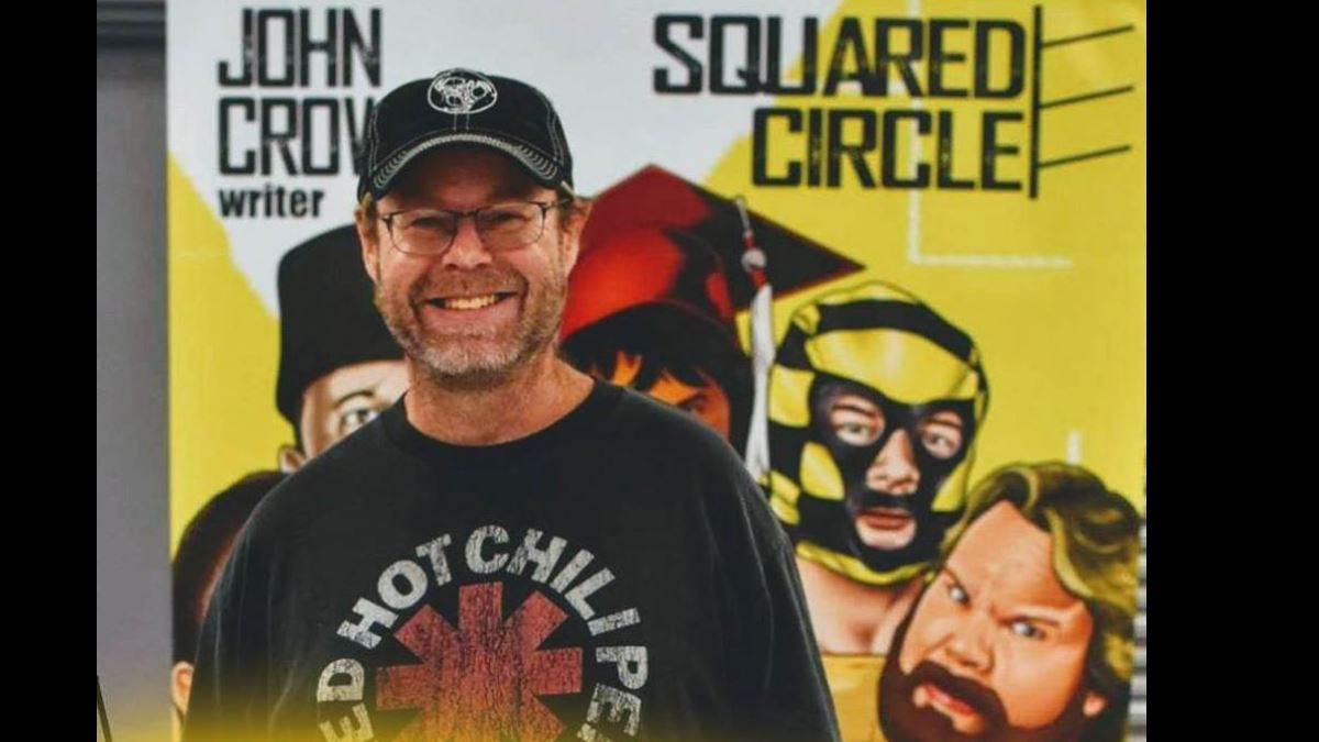 Crowther showcases 'Living superheroes' in his comics