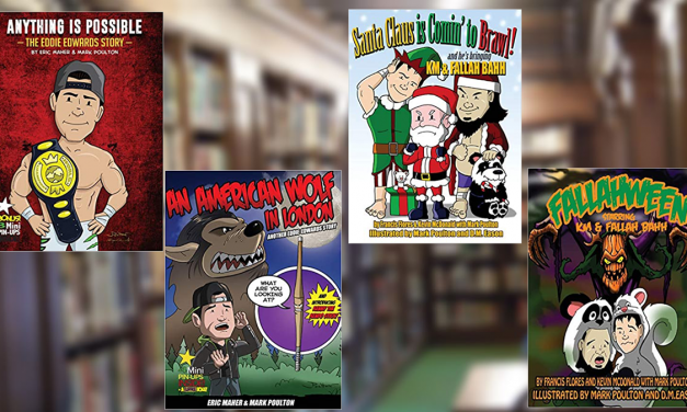 Father and son team up to review four pro wrestling themed children's books