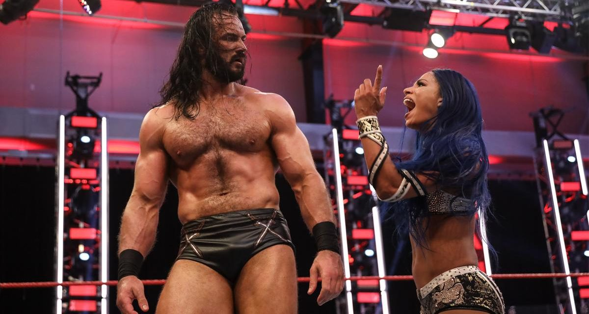 RAW: Drew McIntyre, Asuka team up after contract signing goes awry