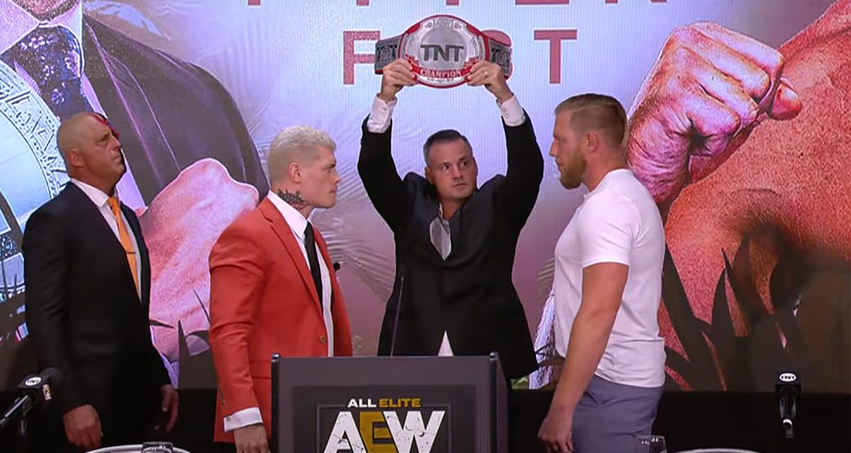 AEW Dynamite: Chris Jericho is fed up with Orange Cassidy ahead of Fyter Fest
