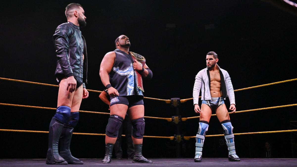 NXT: Lee bests Gargano and Balor for a shot at Adam Cole