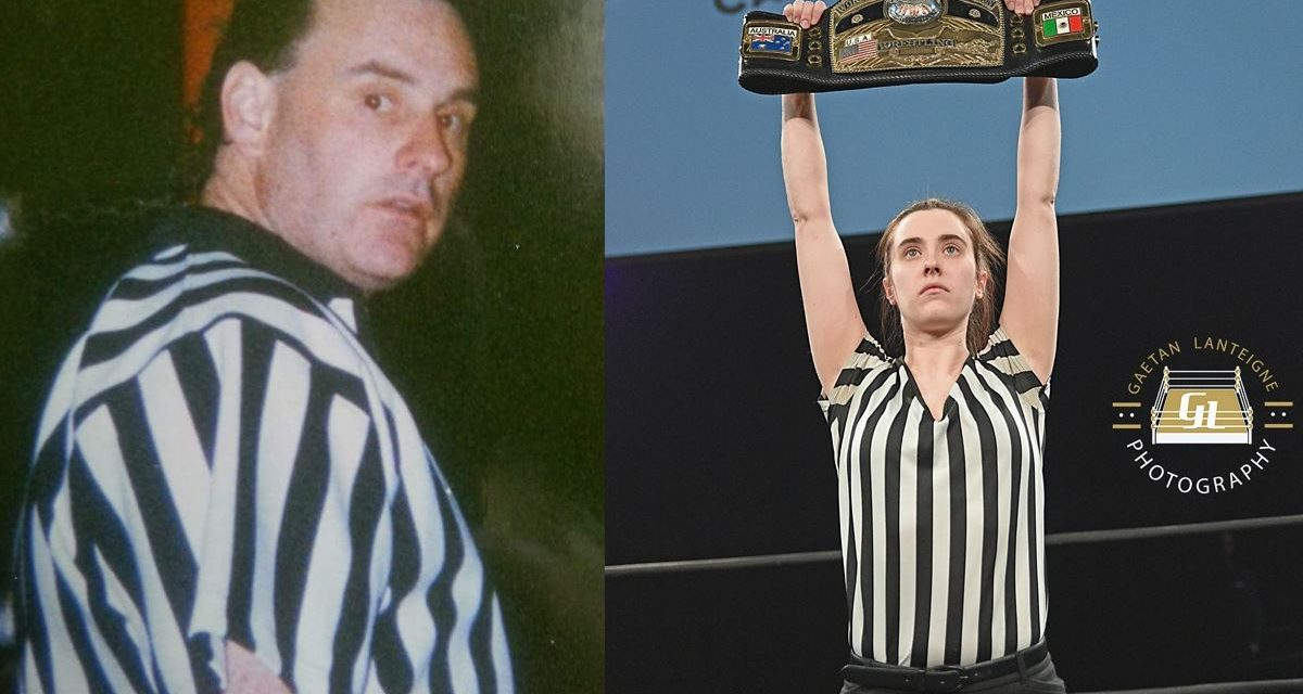 A referee's story: If my father could only see me now