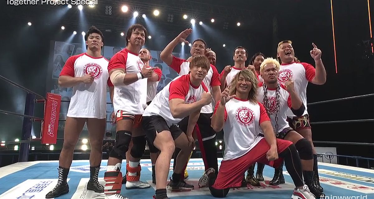NJPW returns with Together Project Special