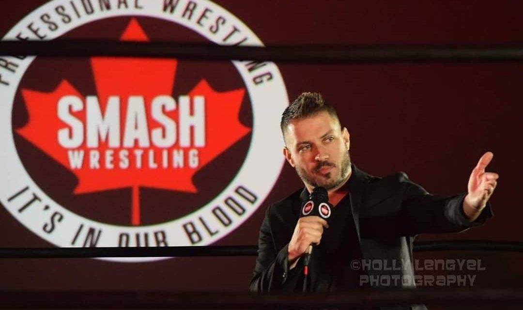 For Scott Hunter, commentary adds narrative to wrestlers' stories
