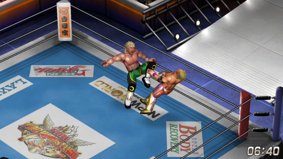 Fire Pro Wrestling World a return to greatness