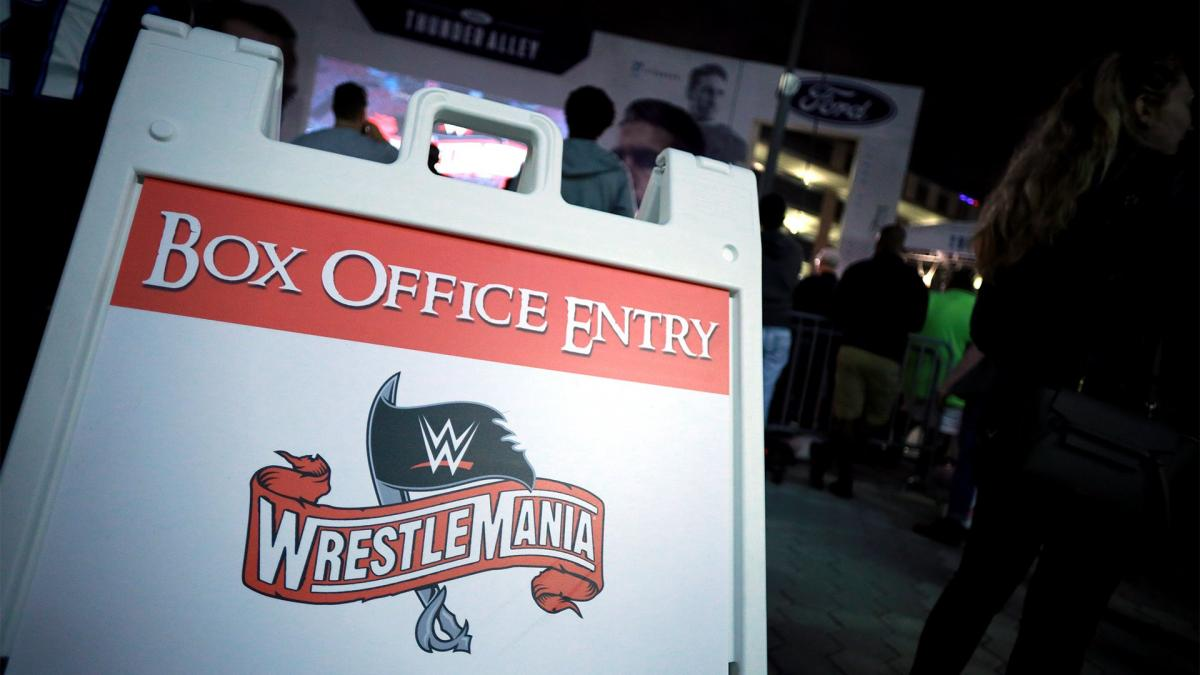 WrestleMania 37 moving?