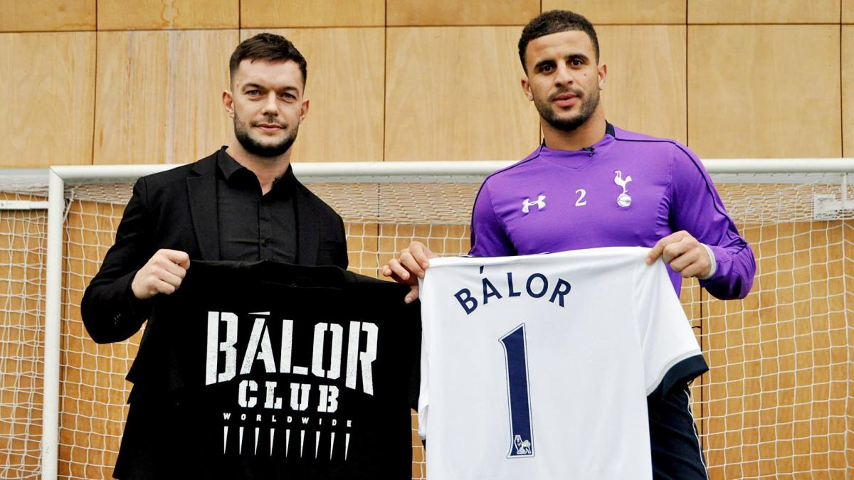 Finn Balor comes to aid of football club