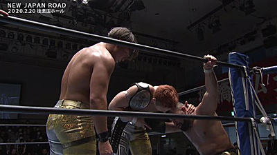 Gold eludes Mega Coaches at New Japan Road: Night One