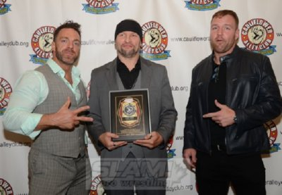 Dean Ambrose honors trainer Cody Hawk at CAC reunion