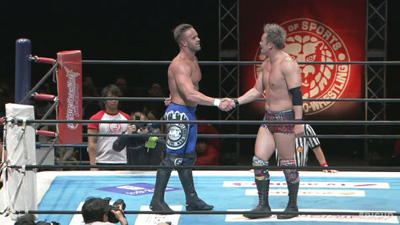 New Japan Cup Night Six: Okada and Ospreay heading for a showdown, Owens attacks Juice