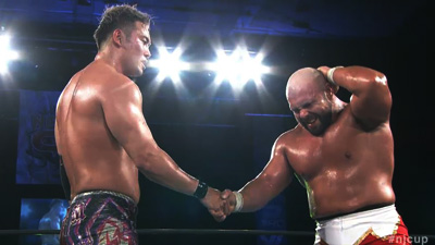 New Japan Cup Night Two: One Canadian is out and one joins Bullet Club