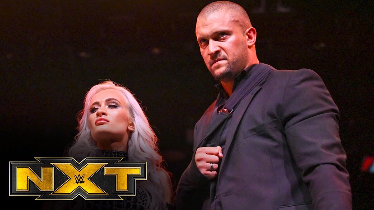 NXT: Karrion Kross relinquishes the NXT Championship