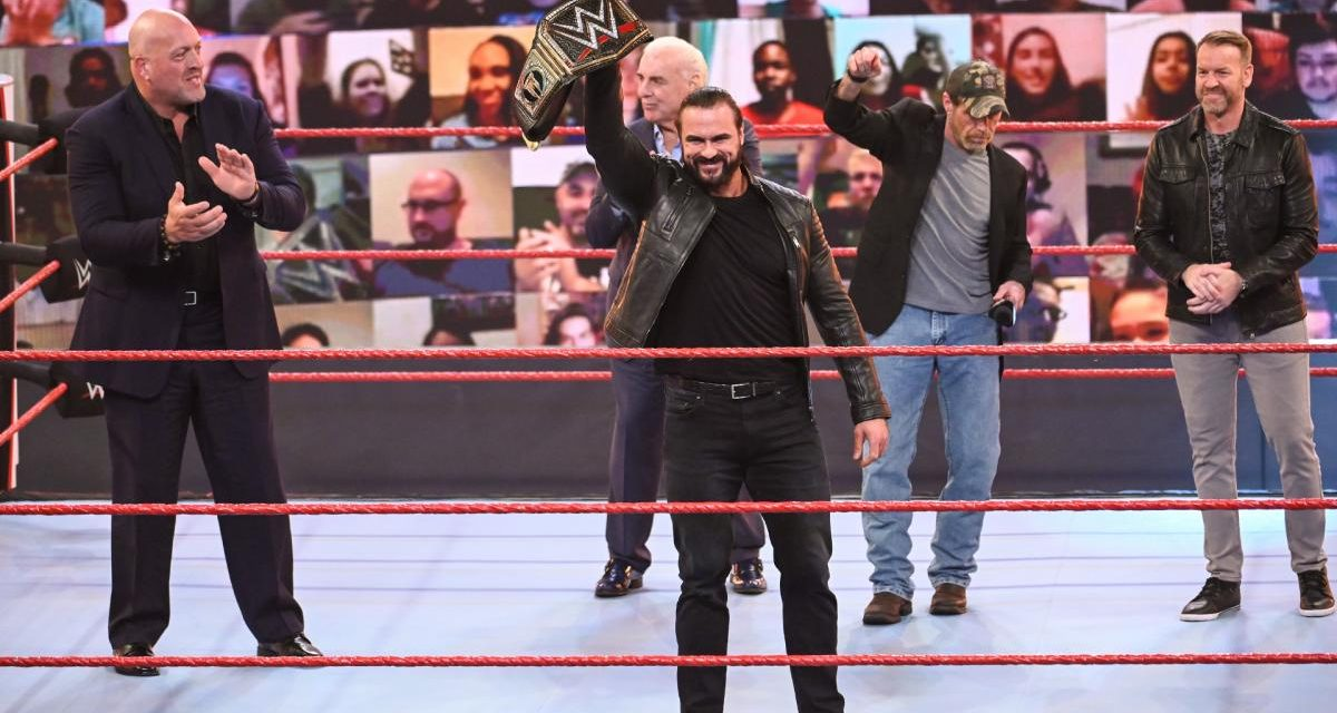 RAW: Drew McIntyre mounts a Glorious title defense