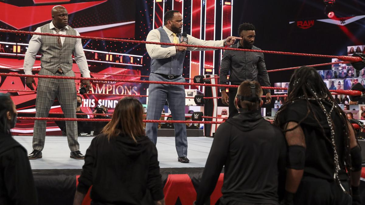 RAW: Hurt Business, McIntyre take the fight to Retribution