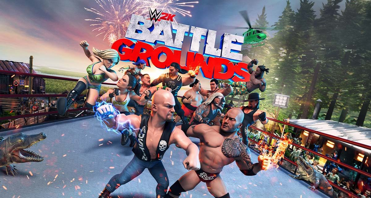 WWE Battlegrounds has the best of both worlds