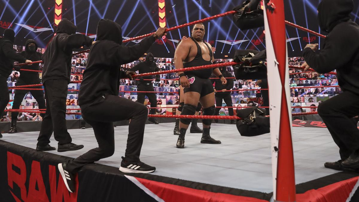 RAW: Drew McIntyre, Keith Lee can't avoid Retribution