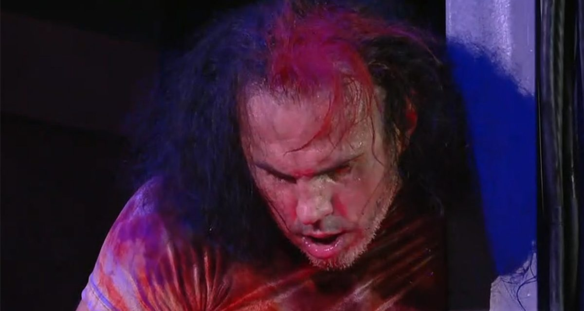 AEW gives update on Matt Hardy, handling of accident