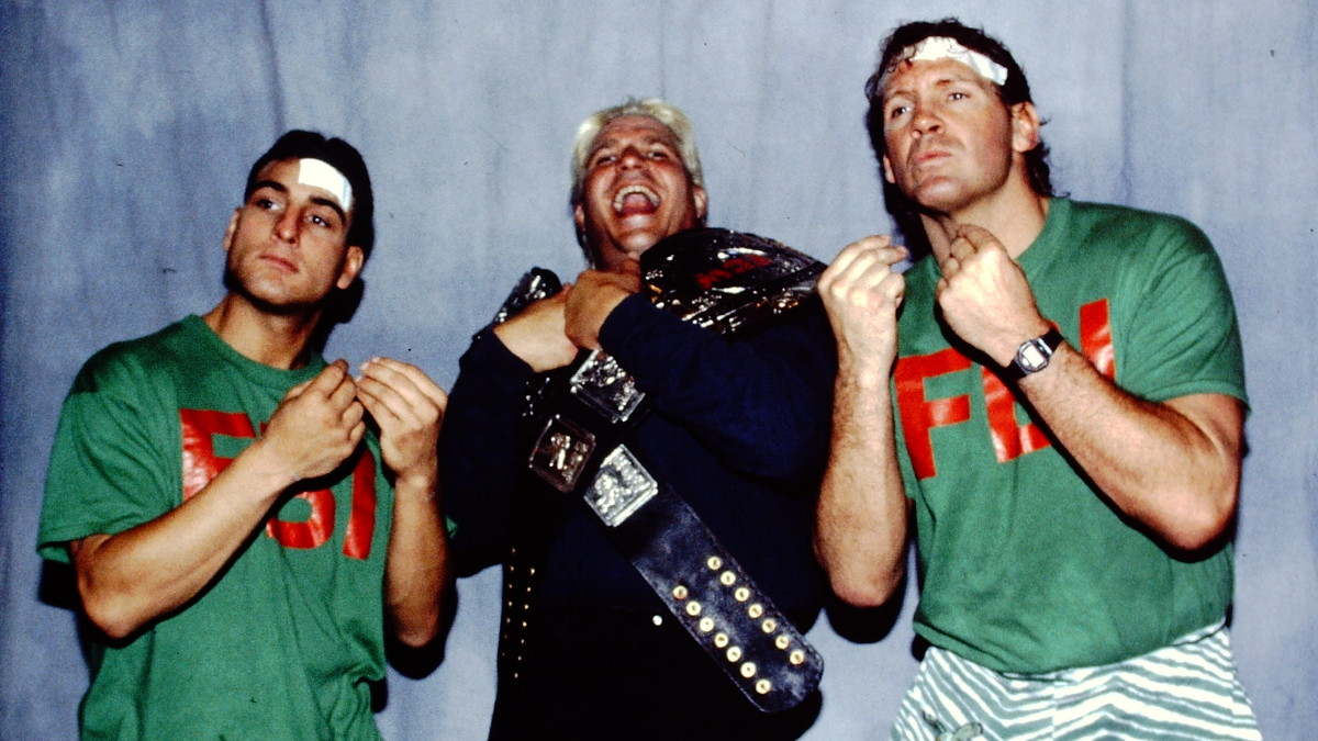 George Tahinos' Tracy Smothers & F.B.I. in ECW photo gallery