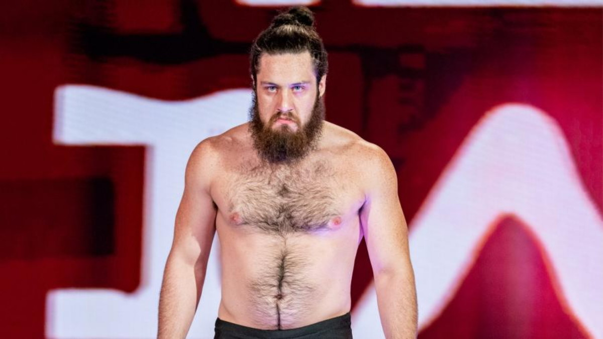 EXCLUSIVE: NXT's Cameron Grimes: 'I am not scared of the Haunted House of Terror'