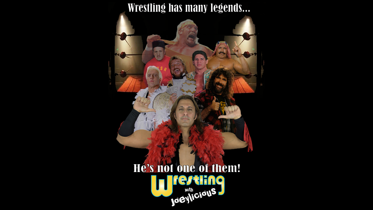 Pro wrestling legends hilariously infiltrate the head of Joeylicious