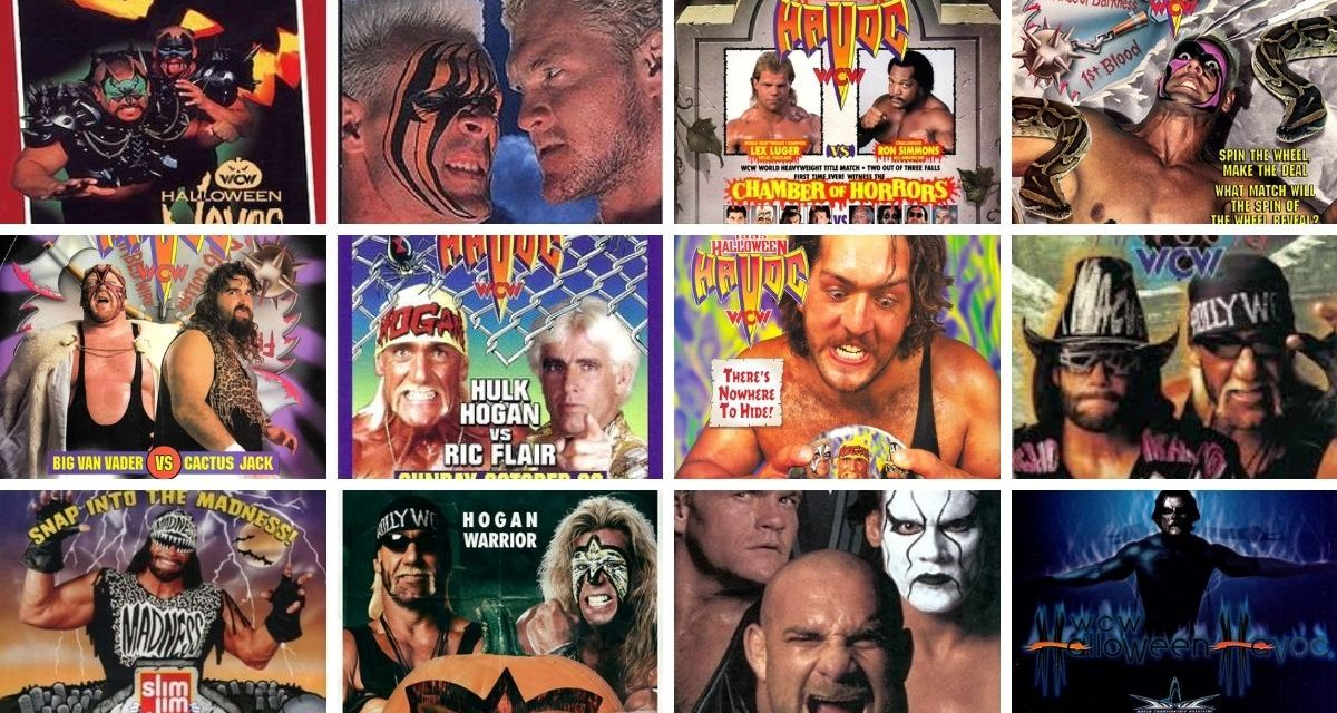 Wrestling's most ghoulish grapplers: Top Ten