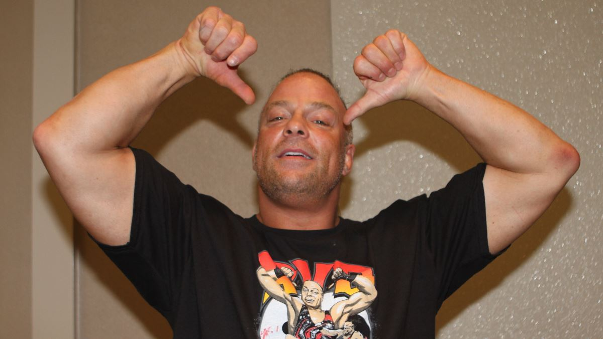 World champ RVD's goal is to help TNA