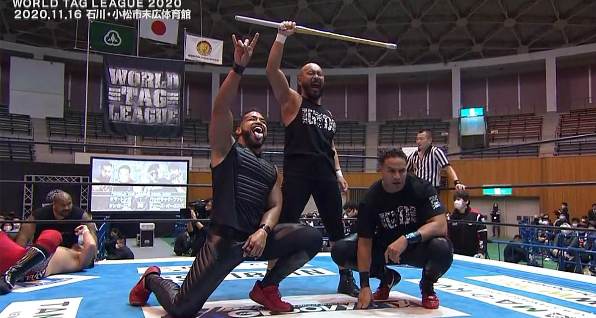 Bullet Club Vs Bullet Club at World Tag League